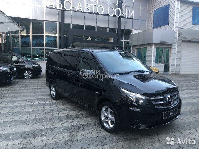Mercedes-Benz Vito 2.1AT, 2018, минивэн